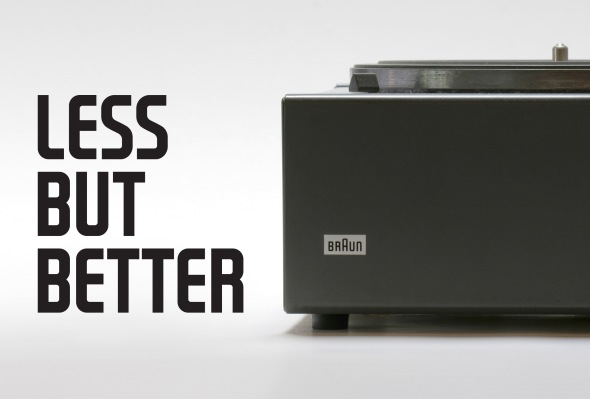 Dieter Rams - 10 principles for good design